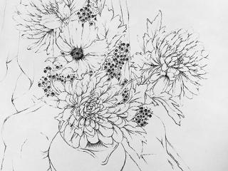 3-Brush-Ink-Drawing