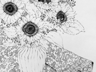 50-Brush-Ink-Drawing